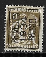 Brussel 1934 Nr. 284A - Typo Precancels 1932-36 (Ceres And Mercurius)