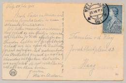 Nederland - 1934 - 6 (+5) Cent Prinses Juliana Op Ansicht Van Velp Naar Haag - 1891-1948 (Wilhelmine)
