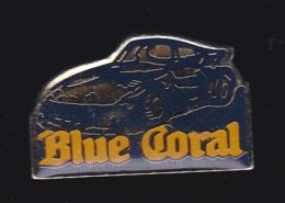 63013-Pin's. Porsche 911 GT1.Blue Coral Porsche . - Porsche