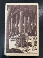 Haute Volta. 5. En Afrique. Le Coupeur De Bois. Illustrateur Boirau - Burkina Faso