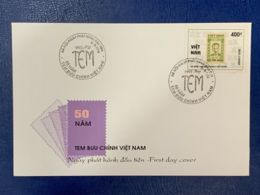 FDC Vietnam Viet Nam 1996 : Stamp Day / Stamp In Stamp (Ms737) - Vietnam