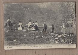CPA 06 - VALDEBLORE - Une Visite Au Lac Gros - TB PLAN Photographie Personnages Touristes Anes - Autres Communes