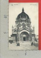 CARTOLINA NV BELGIO - BRUXELLES - Eglise Sainte Marie - 9 X 14 - Monumenti, Edifici