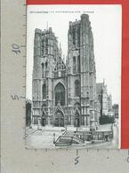 CARTOLINA NV BELGIO - BRUXELLES - La Cathedrale Ste Gudule - 9 X 14 - Monumenti, Edifici