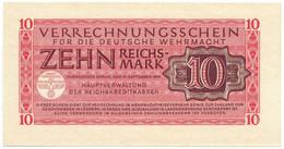 10 REICHSMARK VERRECHNUNGSSCHEIN FUR DEUTSCHE WERMACHT BERLIN 15/09/1944 SUP+ - Geallieerde Bezetting Tweede Wereldoorlog