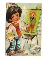 Dessin De G DENIS LES ENFANTS DE BOHEME Dernière Retouche - Other Illustrators