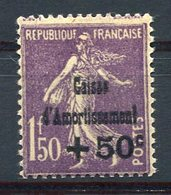 RC 15769 FRANCE N° 268 COTE 200€ CAISSE D'AMORTISSEMENT NEUF ** MNH TB - Ungebraucht