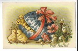 53263 - Vrolijk Paasfeest -  Kuikens - Poussins - Easter