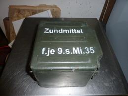 Caisse Pour Matériel Smi 35, 1939-45,Equipement,mine, Grenade Autres, Non Classés - 1939-45
