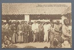 Boma - Principaux Chefs Du Mayumbé - Exposition Produits Indigènes - 1910 - Ed. J.P.L.-W507 - Cachet Léopoldville - Congo Belge - Autres