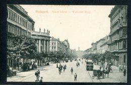 HONGRIE - BUDAPEST - Vaczi Korut - Waitzner Ring - Attelages - Tramways - Hongrie