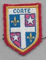 Ecusson  CORTE - Blazoenen (textiel)