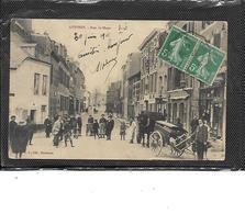 59-AVESNES-sur-HELP-Une Vue Animée De La Rue De MONS-Petit Plan Voiture A Chien - Avesnes Sur Helpe
