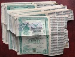 Banco Central Mexicano . Lot De 23 Actions Avec Coupons (1 X 1903 , 11 X 1905 , 11 X 1908). Mexique . Mexico . - Banque & Assurance