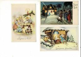 334 Ilistrateur Joyeux Noel - Künstlerkarten