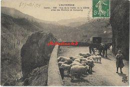 Vue De La Vallée De La Cère Prise Des Rochers De Compaing - 1913 - Altri Comuni
