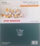 Vietnam Viet Nam Booklet 2018 : Anti-smoking / Cigarette / Health Care / 02 Photos (Ms1093) - Vietnam