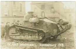 Un Tank Américain- Luxembourg 1918 - Cartes Postales