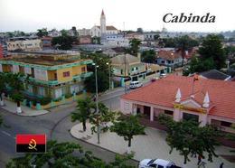 Angola Cabinda City Street View New Postcard - Angola