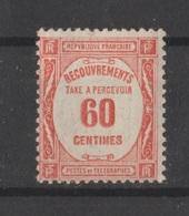 Taxe N° 58 NEUF** - 1859-1955 Mint/hinged