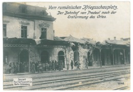 RO 30 - 15342 PREDEAL, Railway Station Bombed, Military, Romania - Old Postcard ( 17/12 Cm ) - Unused - Roumanie