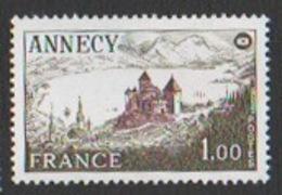 France Neuf Sans Charnière 1977 Philatélie Congrès Sociétés Philatéliques Ville Annecy Haute-Savoie Château YT 1935 - Francia