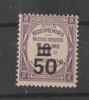 Taxe N° 51 NEUF** - 1859-1955 Mint/hinged
