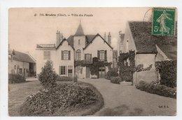- CPA BRUÈRE (18) - Villa Des Fossés 1907 - Collection E. L. 726 - - Autres Communes