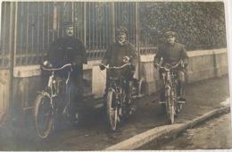 CPA - Cyclistes - Lemesre, Photographe à Calais - Calais