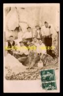 91 - SAINT-CHERON - OUVRIERS CARRIERS - CARRIERES - CARTE PHOTO ORIGINALE - Saint Cheron