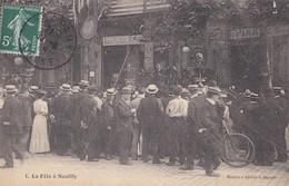NEUILLY SUR SEINE LA FETE A NEUILLY N°1 BARAQUE DE BUFFALO BILLS WILD WEST LES PEAUX ROUGES - Neuilly Sur Seine