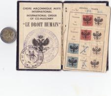 Petit Livret   7x11  Passeport - Non Classificati