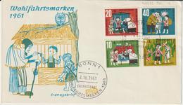 Whlfahrtsmarken 1960 - Cartas