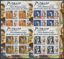 E748. Burundi - MNH - Art - Paintings - Picasso - Imperf - Künste