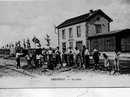 Ambonnay -   La  Gare. - Reims