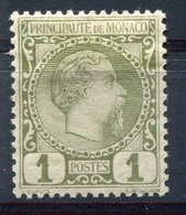 RC 15803 MONACO N° 1 COTE 35€ - 1c PRINCE CHARLES III NEUF * MH TB - Nuovi