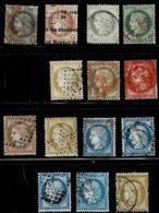 A1- Oblitérations Et Des Variétés Sans Défaut - 1871-1875 Cérès