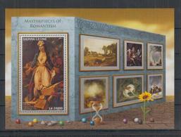 H965. Sierra Leone - MNH - 2016 - Art - Paintings - Romantism - Bl. - Künste