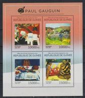 M352. Guinea - MNH - 2014 - Art - Paintings - Paul Gauguin - Künste