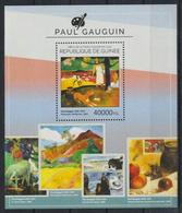 M352. Guinea - MNH - 2014 - Art - Paintings - Paul Gauguin - Bl. - Künste