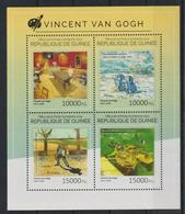 M352. Guinea - MNH - 2014 - Art - Paintings - Vincent Van Gogh - Künste