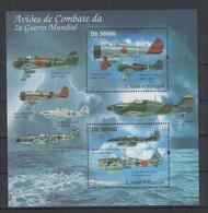 O352. S.Tome E Principe MNH - 2011 - Transport - Aviation - Planes - Militarie - Ohne Zuordnung