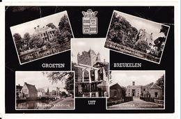 1960 Breukelen 5 Foto's Wo Nijenrode Z/w Gelopen Naar Mookhoek, Post 's-Gravendeel - Breukelen