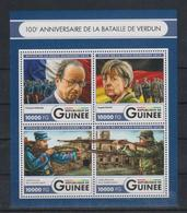 W747. Guinea - MNH - 2016 - Military - War - Famous People - Militaria