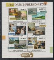 Z747. Mozambique - MNH - 2011 - Art - Paintings - Impressionism - Künste