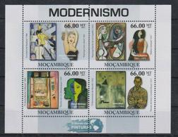 Z747. Mozambique - MNH - 2011 - Art - Paintings - Modernism - Künste