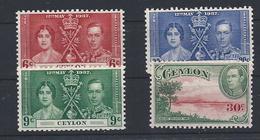 Lotto Ceylon (*) - Ceylan (...-1947)