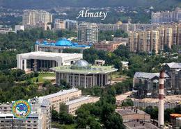 Kazakhstan Almaty Overview New Postcard Kasachstan AK - Kazachstan