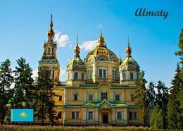 Kazakhstan Almaty Zenkov Cathedral New Postcard Kasachstan AK - Kasachstan