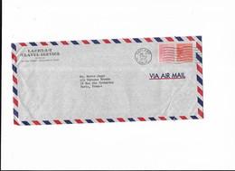 1955 Usa Etats Unis Lachelt Travel Service Oakland Californie - Marcophilie